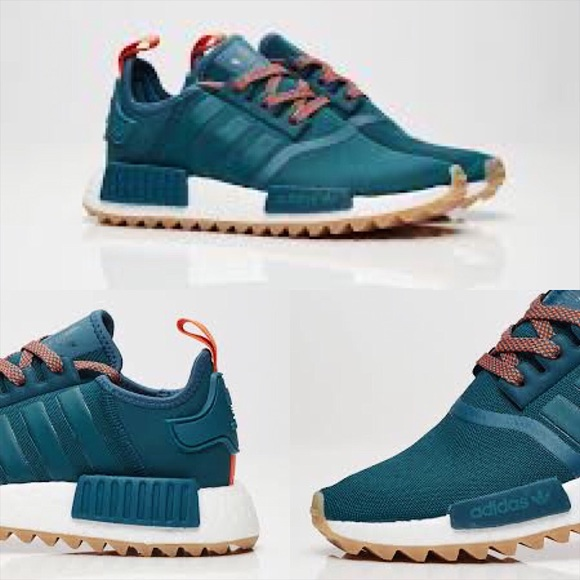 Adidas NMD R1 Sea Crystal Tactile Green Shoes Pinterest